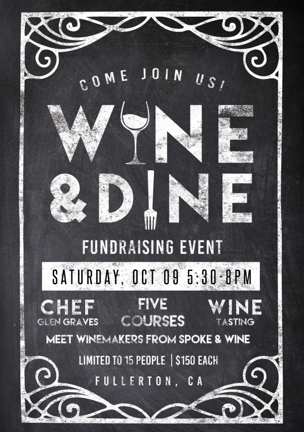 Wine and Dine Fundraising Event